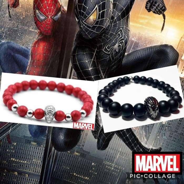 Pulseras Diseño Spider Man