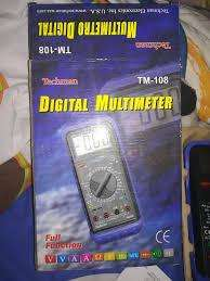 MULTIMETRO TESTER TM 108