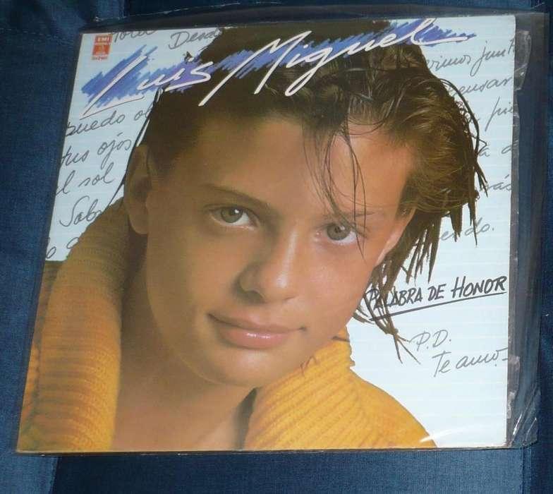 Luis Miguel Palabra de honor LP 1984