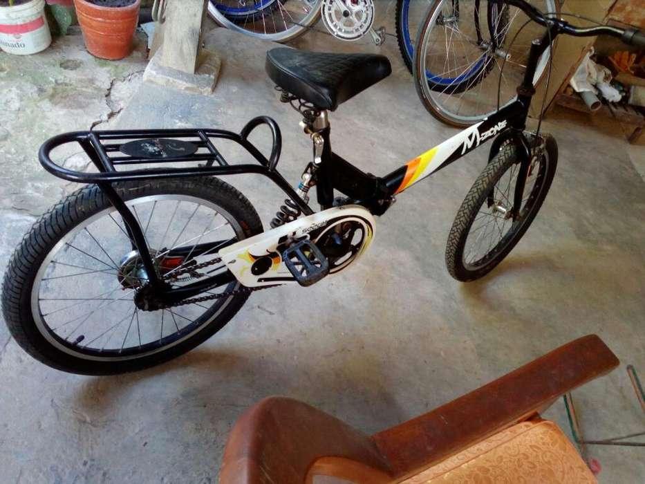 Vendo Bicicleta Pleglable 500 Soles