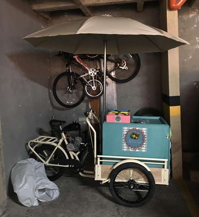 Triciclo para Venta Ambulante