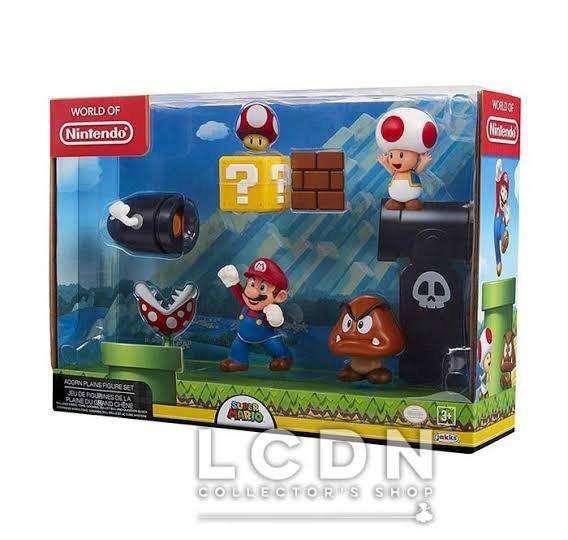 World Of Nintendo 5 Figuras Pack New2019