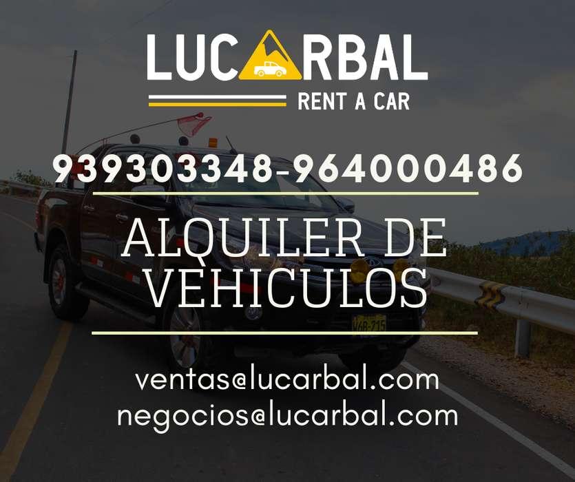 ALQUILER DE VEHICULOS CAMIONETAS Y CAMIONES EN PASCO