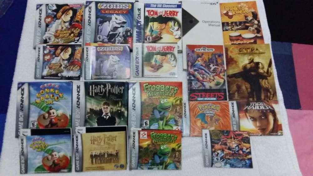 Accesorios Manuales Revistas Club Nintendo Gameboy Gba Ds Mvs