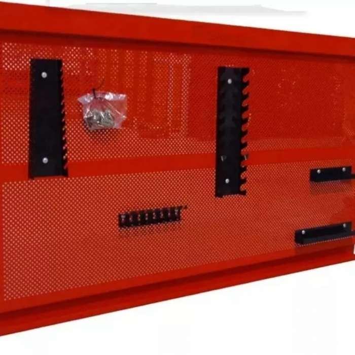 Tablero metlico color rojo taller mecnico hobbyes