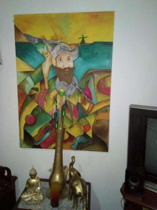 Don Quijote en Lienzo