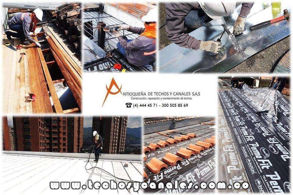 Mantenimiento, reparación y limpieza externa e interna de techos, servicio integral en alturas