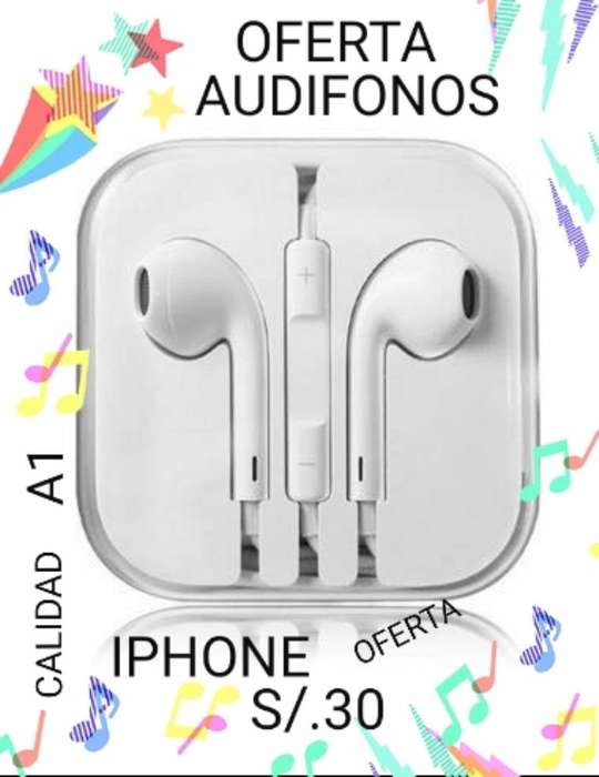 Calidad A1 Audifonos Android E iPhone