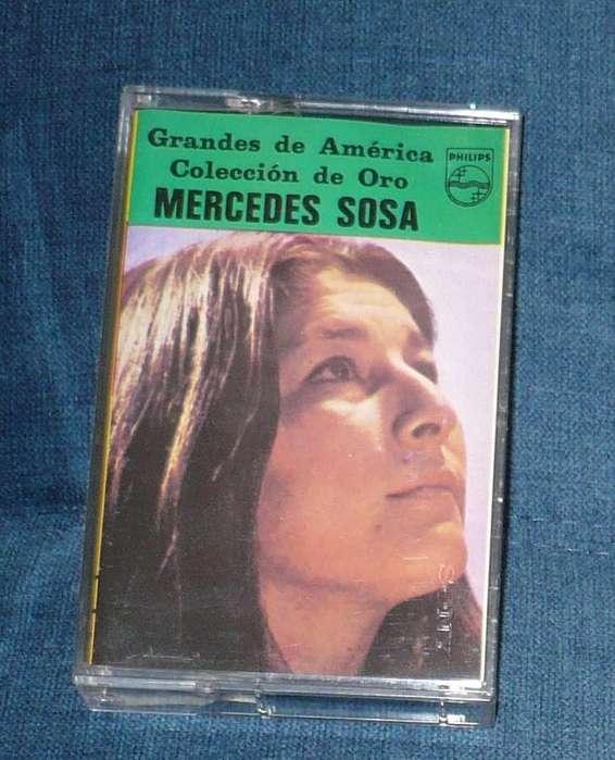 Mercedes Sosa Grandes De América Cassette casete