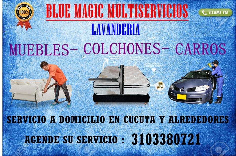 lavado en seco de muebles , colchones , carros , alfombras ect 3103380721