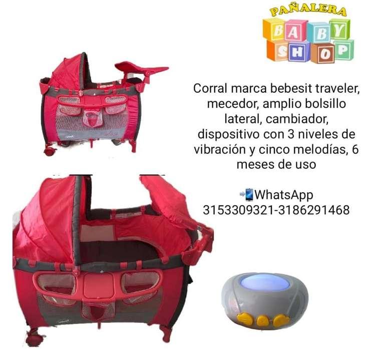 Corral Marca Bebesit Traveler para Bebés