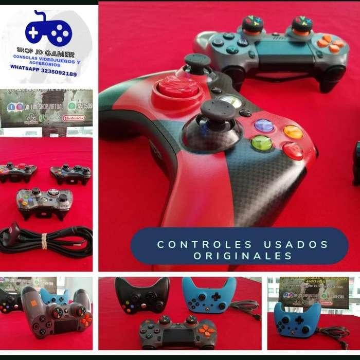 Controles Usados