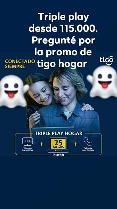 Triple Play Tigo Hogar