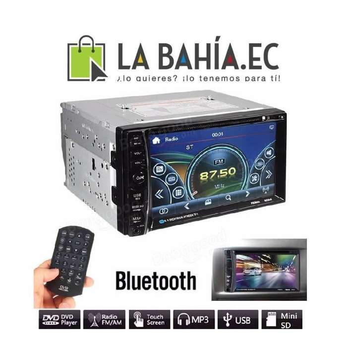RADIO DVD PANTALLA TACTIL PARA CARRO BLUETOOTH USB AUX PRECIO ESPECIAL PARA DISTRIBUIDORES