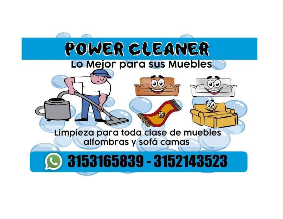 Lava Muebles Power Cleaner
