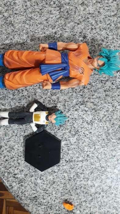 Dragon Ball: Goku Ssgss Y Vegeta Ssgss