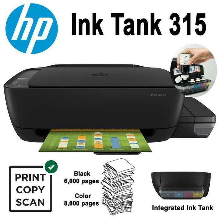 Impresora Hp Ink Tank 315 NUEVA