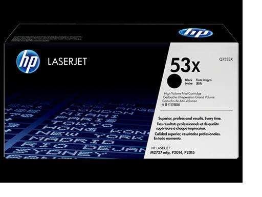 Toner Hewlett Packard Q7553x