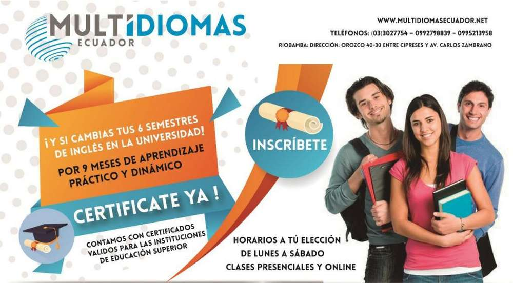 Certificacion Internacional Ingles B2