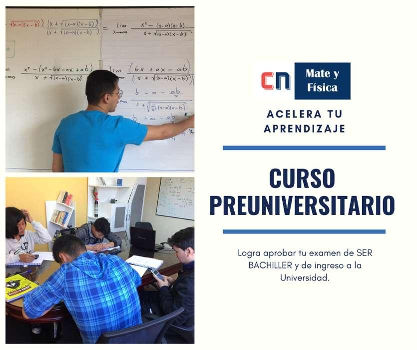 Preuniversitario - CN Mate y Física