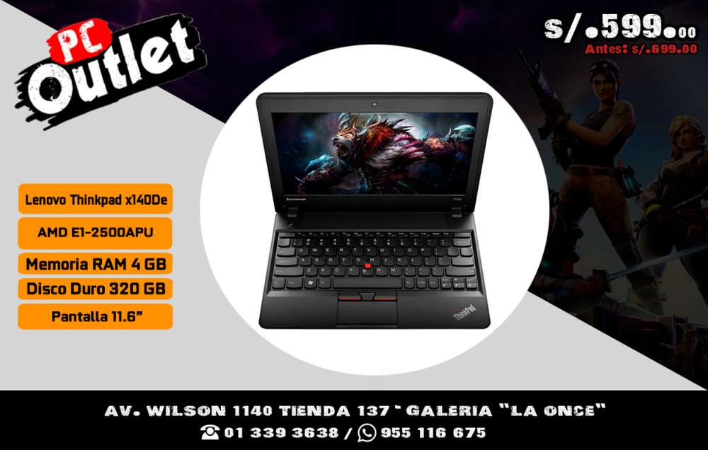 Laptop Lenovo Thinkpad Basica 11.6