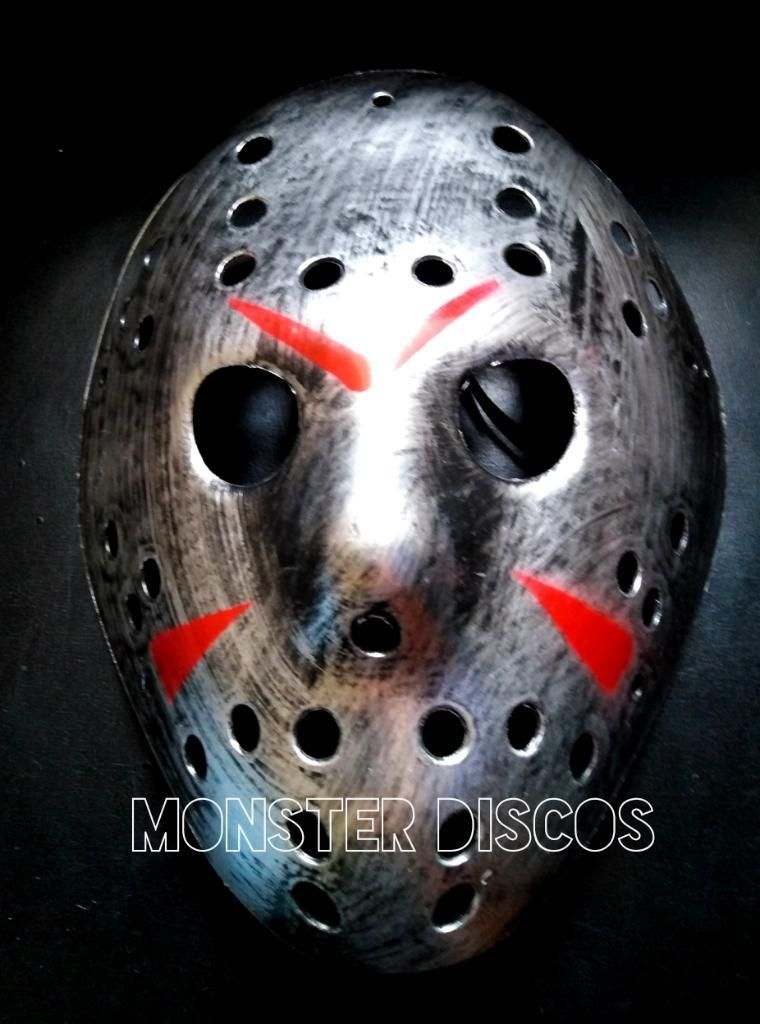 Mascara Jason Halloween Disfraz