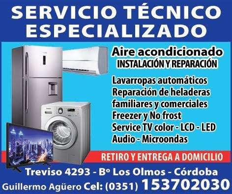 SERVICIO TECNICO ESPECIALIZADO LAVARROPAS HELADERAS