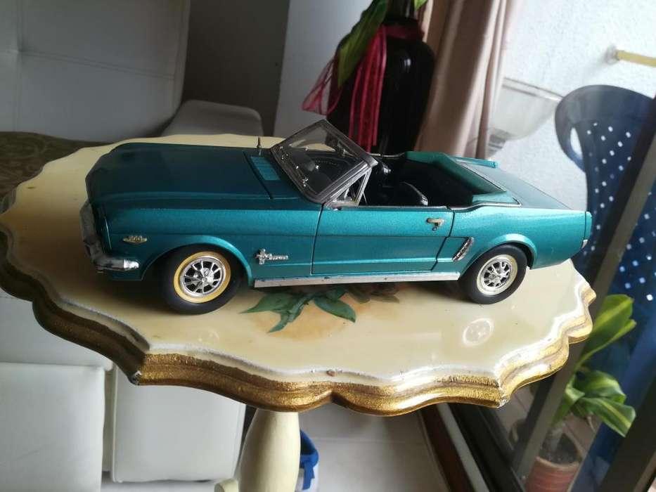 carrito de coleccion ford mustang 1964