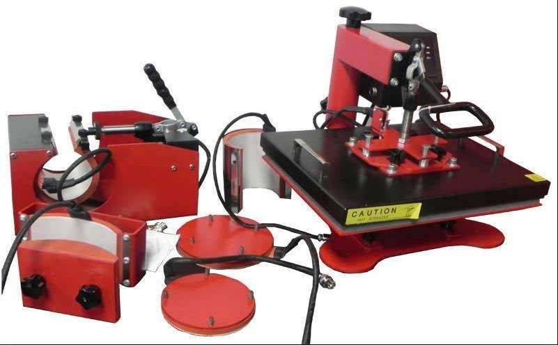 Máquina Multiusos Sublimación y Estampado 5 En 1 Mas <strong>impresora</strong> Epson T40w