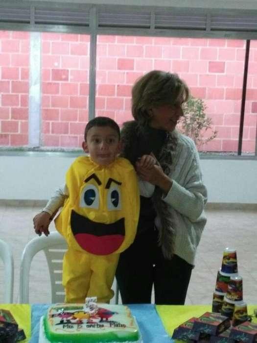 disfraz de pacman para niños
