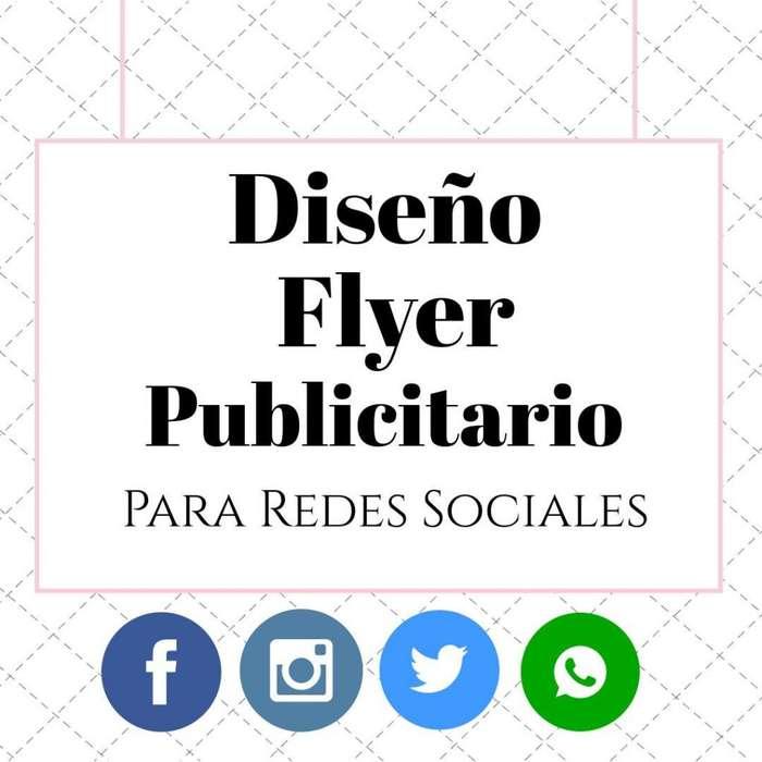 Diseño Flyer digital publicitario para redes sociales!