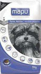 Alimento Perro Mordida Pequeña MAPU – x 9 kg