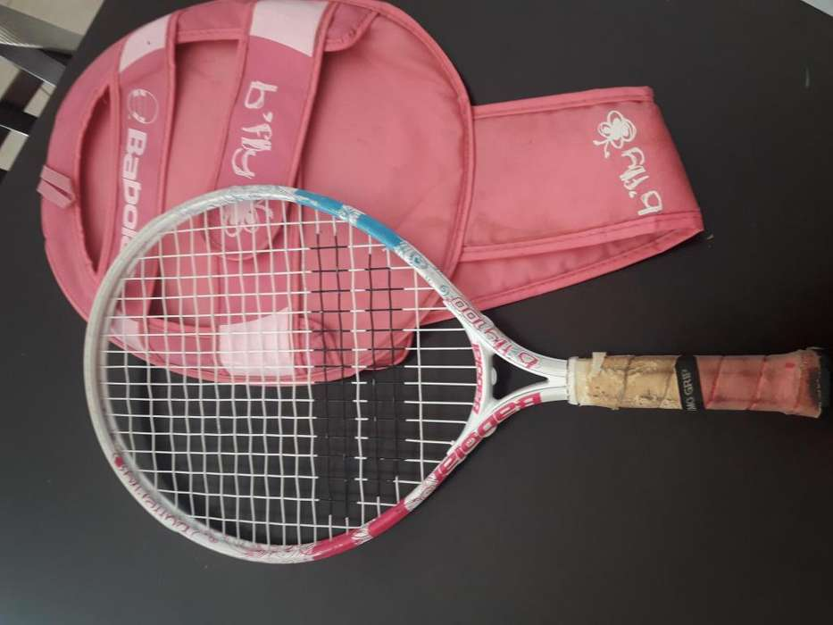 Vendo Raqueta Tenis Niña con Funda