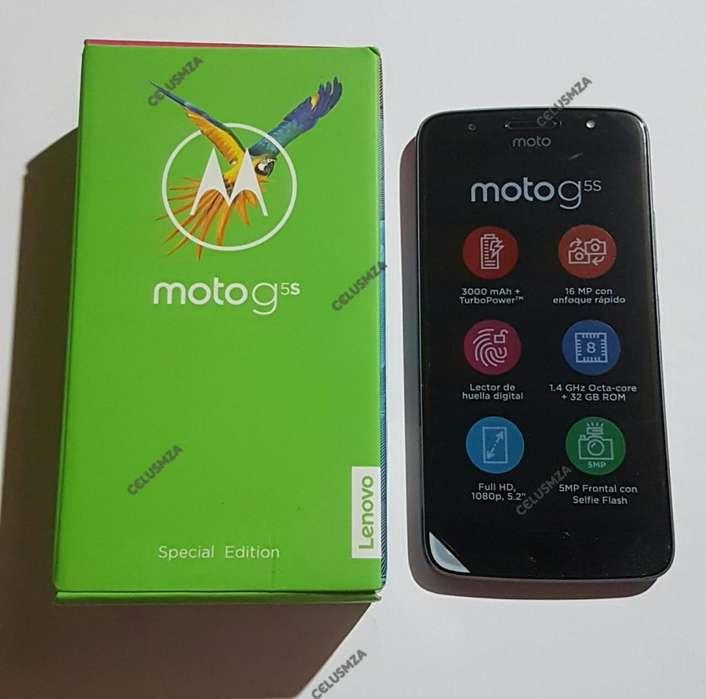 MOTO G5 S DE 32GB EN PROMO!!! NUEVO Y LIBRE ,CON GARANTIA,4G,LECTOR DE HUELLAS,CAMARAS 16 Y 5MP