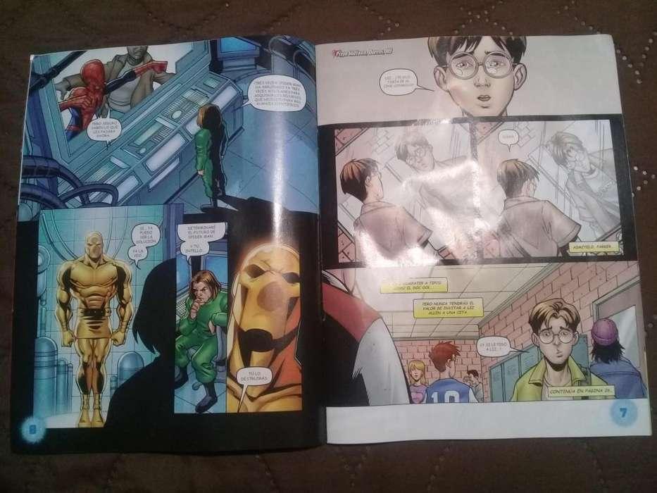 Cómic. Revista Marvel Ultimate Spider Man.