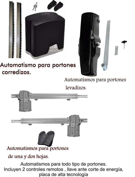servicio técnico, de alarmas , cámaras de seguridad y portones automáticos
