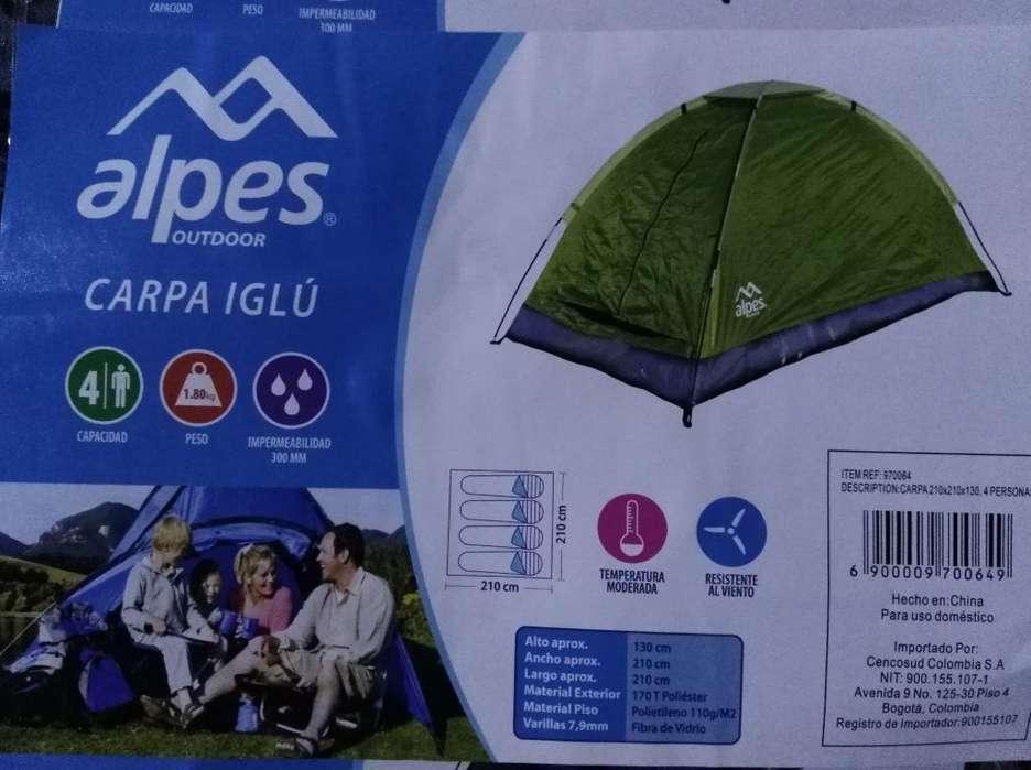 Carpa para Camping Marca Alpes