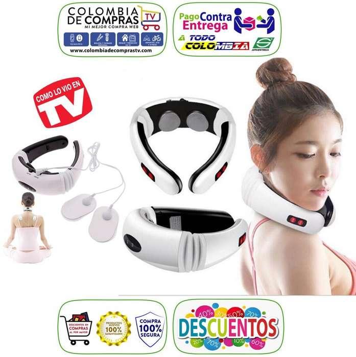 Masajeador Cuello Tv Gimnasia Pasiva Cervical Inalambrico, Nuevos, Originales, Garantizados