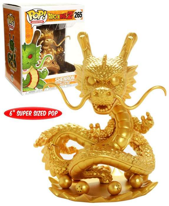 Funko Pop Shen Long Hottopic Dorado 6 Pulgadas - Dragon Ball