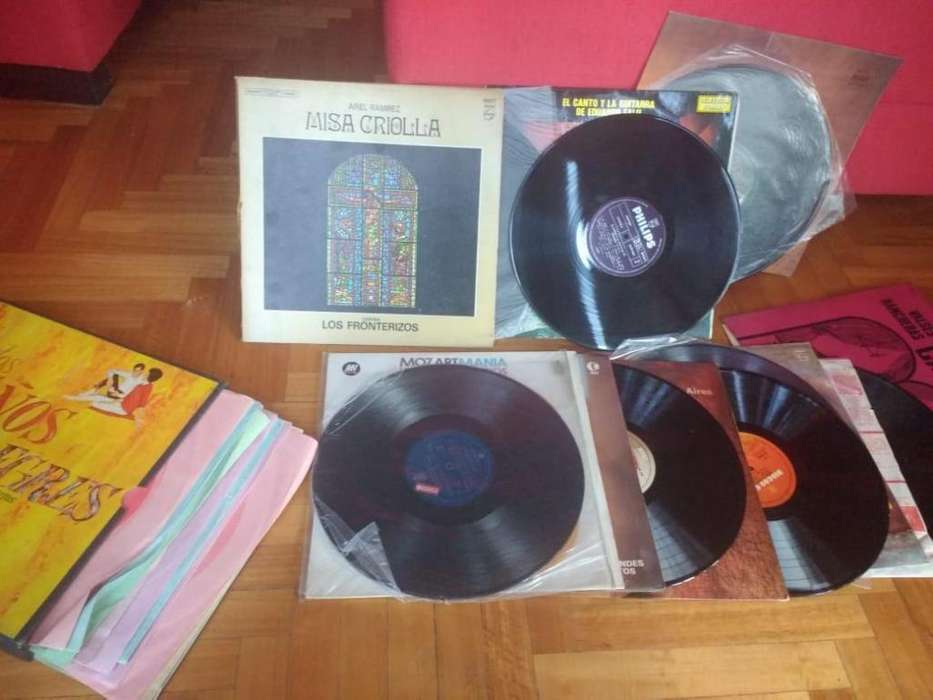 Lote de disco de vinilo. Ideal para decoración