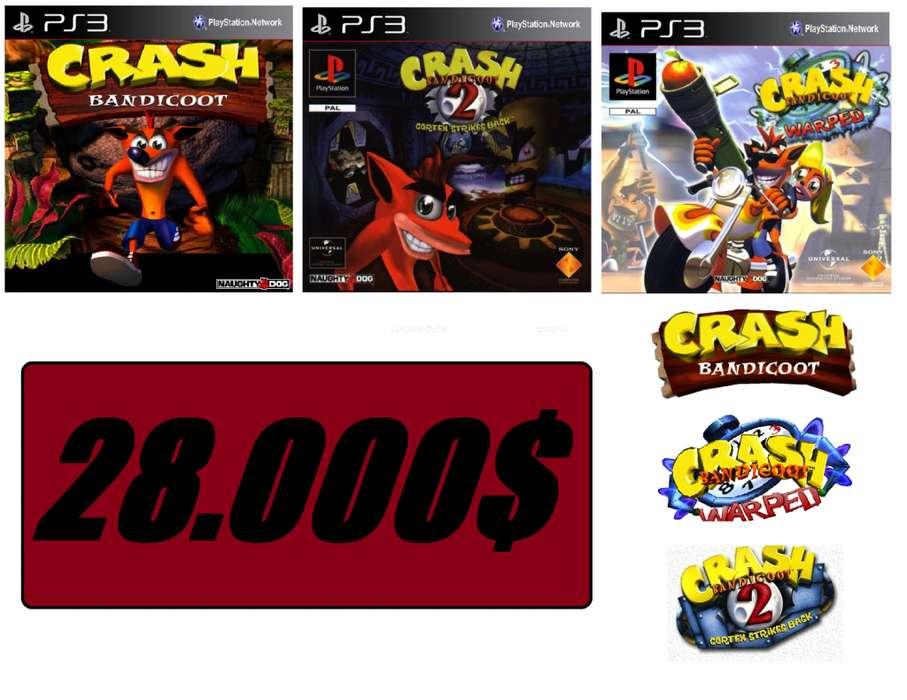 CRASH 123 PARA PS3 !!!