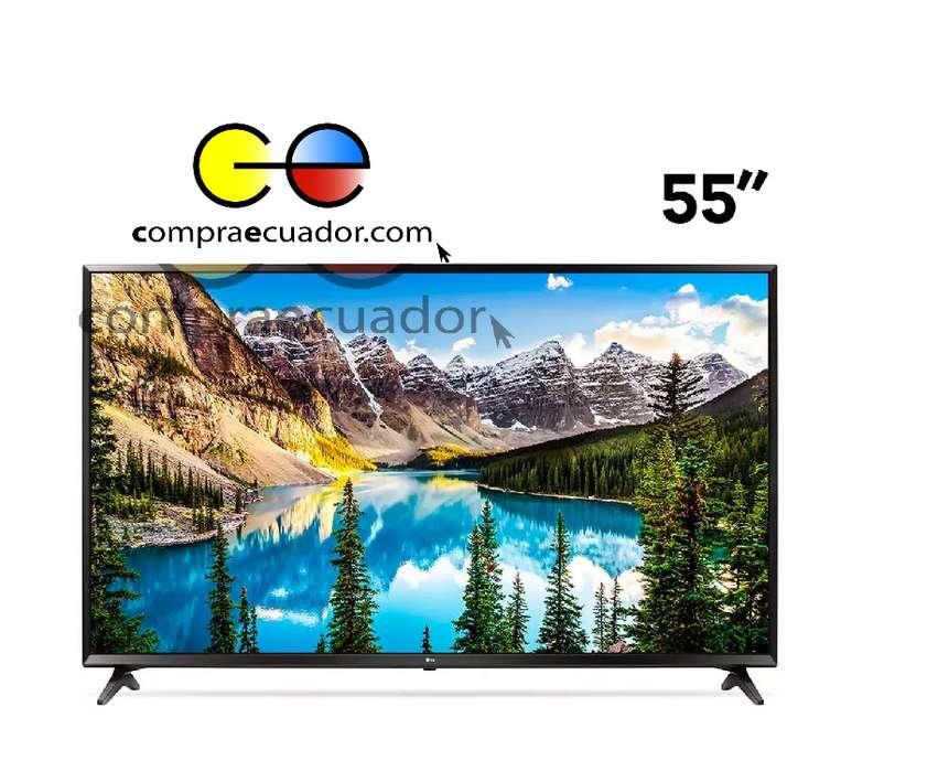 LG Televisor Led UHD 4K 55 Smart TV Ultra Slim Usb WebOS