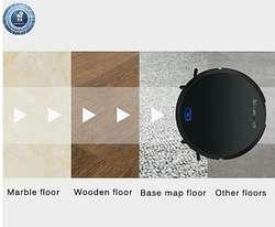 ROBOT SMART DE LIMPIEZA (motor de succión de polvo y partículas de alta potencia).
