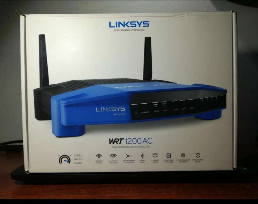 Router Linksys Wrt1200ac