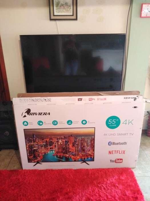 Smart Tv 55 Antena Soporte Y Caja