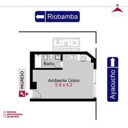 Ayacucho 2208 - Dpto Monoambiente Externo. Alquila Uno Propiedades