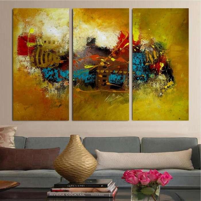 cuadro sobre paneles elegante 9972