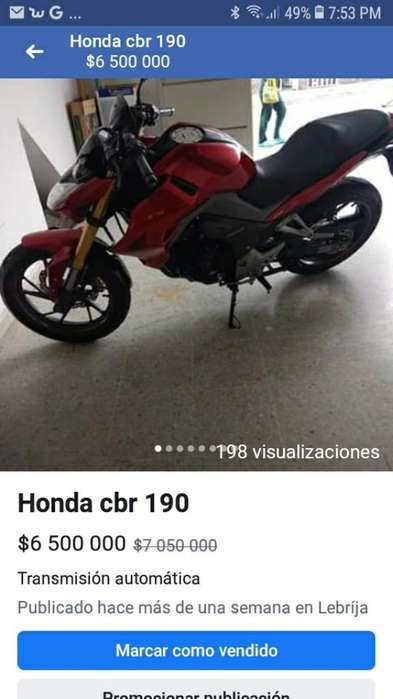 Honda Cbr190