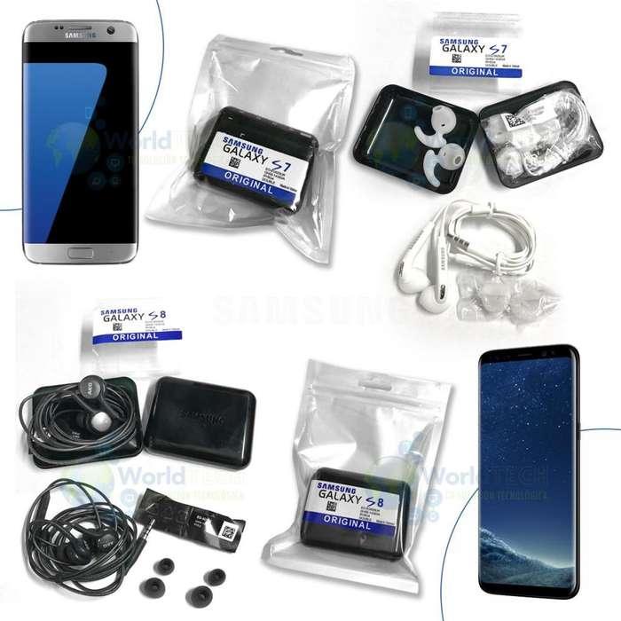 Audifonos Samsung Manos Libres Akg S6 S7 J S8 S9 Plus Note 8