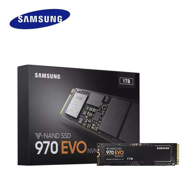 Ssd Samsung 970 Evo 1tb Nvme M.2 Pcie 2280